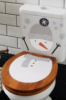 Snowman Peelable Stickers