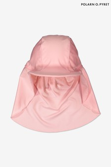 Polarn O. Pyret粉色防曬遮頸帽