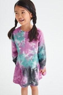 فستان كنزة طبقات (3-16 سنة)