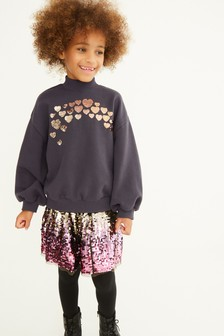 Sequin Sweatshirt (3-16yrs)