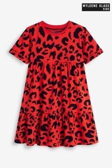 فستان مطبوع طبقات للأطفال منMyleene Klass