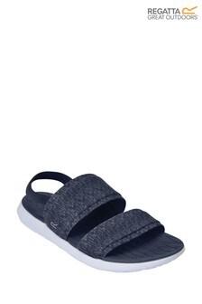 Regatta Blue Lady Tia Lightweight Slip-on Sandals (M11506) | $28