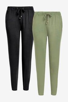Набор из 2 трикотажных спортивных штанов