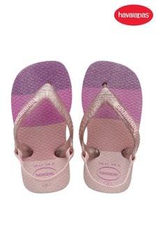 Havaianas Pink Baby Glow Flip Flops