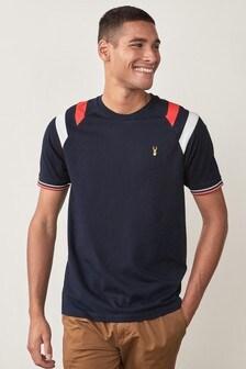 Tričko s farebnými dielmi