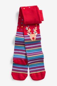 Reindeer Christmas Tights