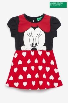 فستان مطبوع Disney Minnie Mouse من Benetton