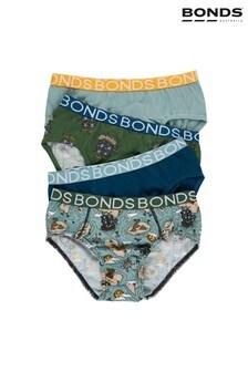 Зеленые трусы для мальчиков Bonds