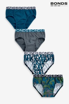 Bonds ボーイズ グリーン ブリーフ