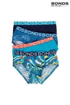 Bonds Blue Boys Briefs