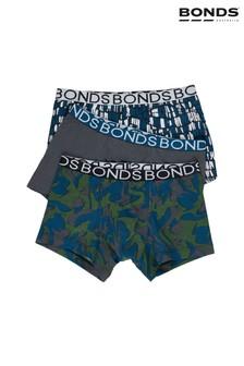 Зеленые боксеры-брифы для мальчиковBonds