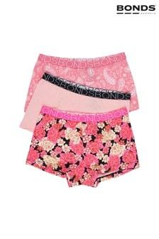 Розовые трусы-шортики для девочек Bonds