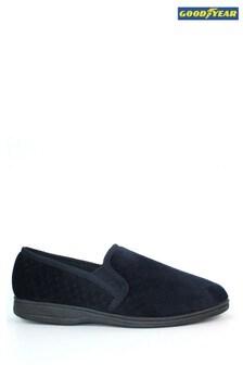 נעלי בית בצבע כחול דגםTamar שלGoodyear