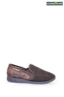 נעלי בית סגורות שלGoodyear דגם Mallory בצבע חום