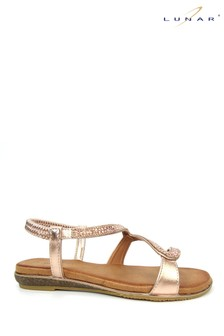 Lunar Rose Gold Emilia 'S' Sandals