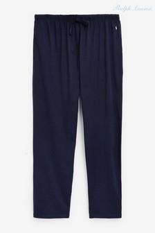 מכנסי טרנינג שלPoloRalph Lauren למידות גדולות וגבוהות עם מותן שרוך
