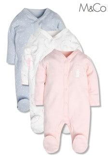מארז 3 חליפות שינה של M&Co