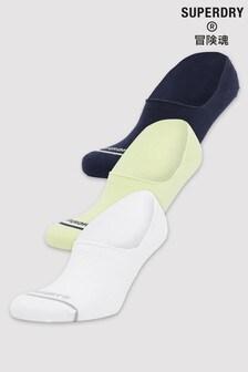 Superdry隱形運動襪3對裝