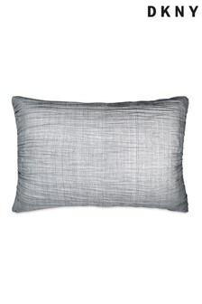 DKNY Grey City Pleat Pillowcases