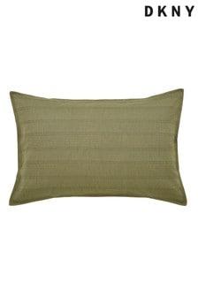 DKNY Green Avenue Stripe Pillowcases