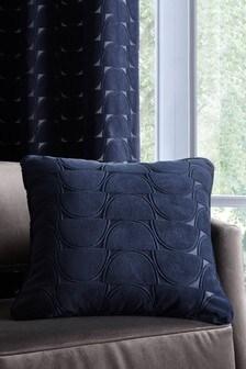 Studio G Blue Lucca Geo Cushion
