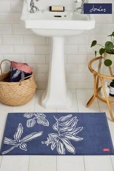 Joules Crayon Floral Bath Mat
