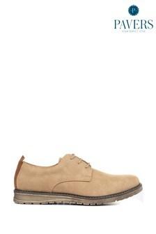 Мужские туфли на шнуровке Pavers