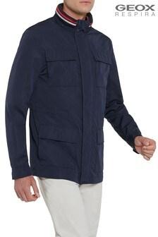 Синяя мужская куртка Geox Wells