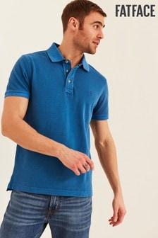 FatFace Blue Ely Pique Polo Shirt