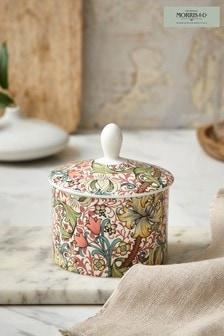 Morris & Co. Golden Lily Sugar Bowl