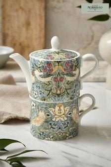 Morris & Co. Strawberry Thief Tea For One