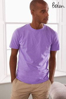 Boden Purple Washed T-Shirt