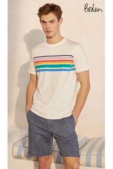Boden White Kingston T-Shirt