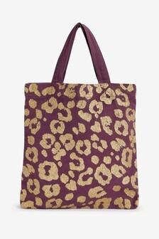 Animal Printed Cotton Reusable Gift Bag