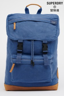 Superdry Waxed Canvas Topload Rucksack