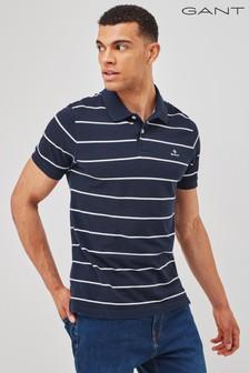 قميص راجبي أزرق خطوط منGANT