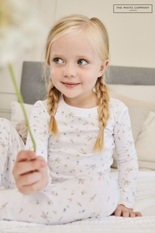 The White Company Marcie Floral All Over Print Pyjamas