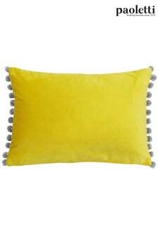 Riva Paoletti Grey Fiesta Cushion