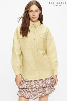 חולצת אוברסייז מעור דגם Laars של Ted Baker