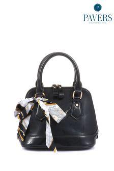 Черная дамская сумка Pavers