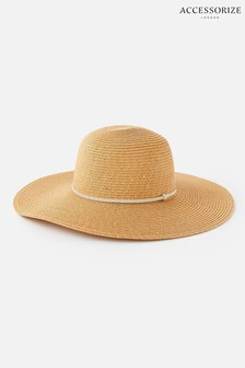 Accessorize Santorini Sequin Floppy Hat