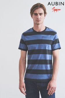 Aubin Huntstaw Stripe T-Shirt