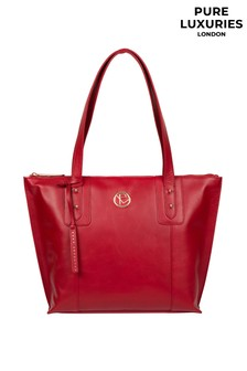 Pure Luxuries London Goya Leather Tote Bag