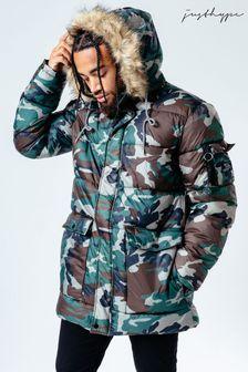 Куртка с камуфляжным рисунком Hype. Explorer