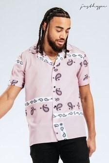 Hype. Pink Paisley Shirt