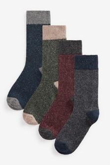 Wool Socks 4 Pack