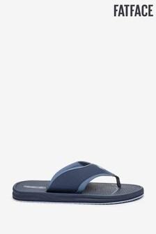 FatFace Blue Sporty Flip Flops