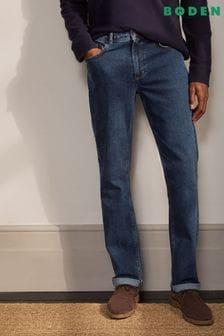 Boden Blue Straight Leg Jeans