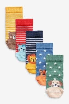 5 Pack Socks (younger) (M29362) | $7