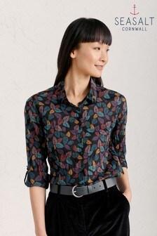 חולצת Larissa שחורה של Seasalt
